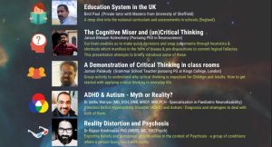 Nine thought provoking presentations from UK Malayalees you should never miss on May 18 @ Jurys Inn, Wellesley Rd, Croydon CR0 9XY.