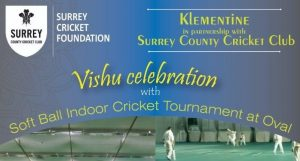 Eight-A-Side Soft Ball Indoor Cricket Tournament at Oval on May 5 @ The Kia Oval, London SE11 5SS.